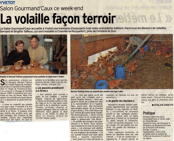 Courrier Cauchois n°3414 du 08/03/2013